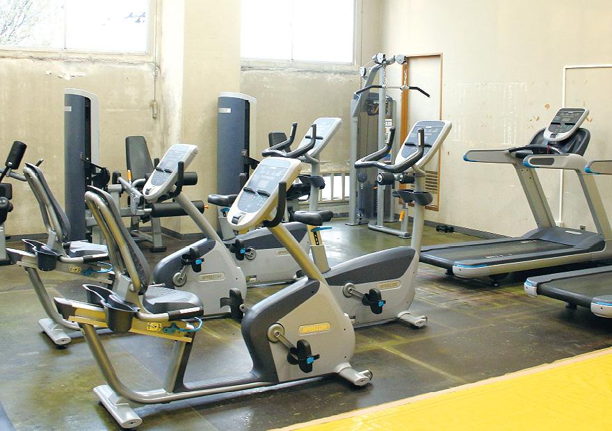ひたちなか市松戸体育館 トレーニング室