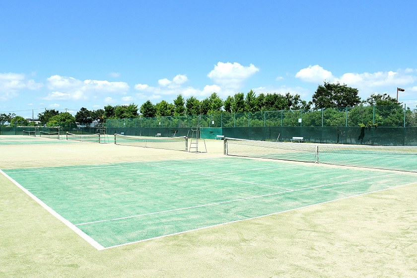 総合運動公園テニスコート