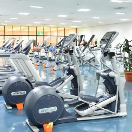 総合体育館トレーニング室